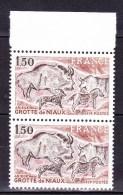 N° 2043 Série Touristique: Grotte De Niaux  1 Paire De 2  Neuf Impéccable - France