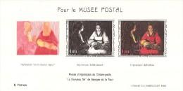"""France 1966 Y&T No 1479b Document Philatélique """"Le Nouveau Né"""" De Georges De La Tour - France"""