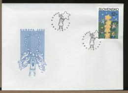 SLOVENSKO - FDC - EUROPA - FDC