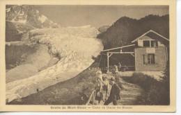grotte du Mont Blanc - chalet du glacier des bossons - cachet au dos - voir scan RV