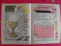 Découpage Animé à Construire. Petits Tours De Magie Oeuf à La Coque, Diable Dans Sa Boîte1937 - Vieux Papiers