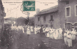 LA PROCESSION DES PENITENTS A LAUSSONNE - France