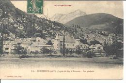 819. MONTMAUR. LIGNE DE GAP A BRIANCON. VUE GENERALE. - France