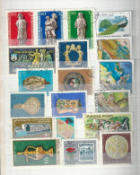 0609 Hungary 35 Different Stamps Used Lot 04 - Mezclas (max 999 Sellos)