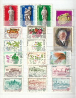 0614 Hungary 35 Different Stamps Used Lot 09 - Mezclas (max 999 Sellos)