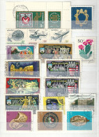0617 Hungary 35 Different Stamps Used Lot 12 - Mezclas (max 999 Sellos)