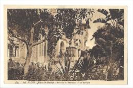 11912 - Alger Hôtel St George Vue De La Terrasse The Terrace - Alger