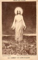 CPA.....VISION AUX ALLIES...LE CHRIST ET JERUSALEM ...PRIX: 2,99 € - Guerre 1914-18