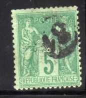 JOUR DE L AN - Marcophilie (Timbres Détachés)