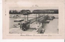 CETTE 13 STATION BALNEAIRE . LE NOUVEAU PONT DE LA GARE (TRAMWAY) 1914 - Sete (Cette)