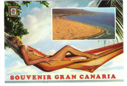 Gran Canaria - PIN UP - Femme - Nude Girl - Woman - Frau - Erotic - Erotik - Pin-Ups