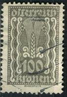 AUTRICHE 271* 100k Gris Symboles Agriculture (10% De La Cote + 0,15) - Ungebraucht