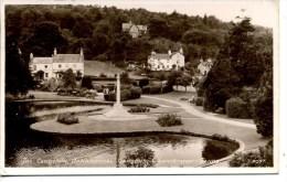 CUMBRIA - GRANGE OVER SANDS - THE CENOTAPH, ORNAMENTAL GROUNDS RP Cu950 - Cumberland/ Westmorland
