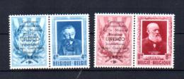 Verhaeren Et Conscience Surchargé Unesco, PR 119 / 120** - Belgien
