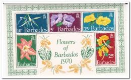 Barbados 1970, Postfris MNH, Flowers - Barbados (1966-...)