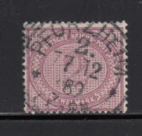 1875   MICHEL  Nº 37d  ,  Stumpfviolettpurpur , - Used Stamps
