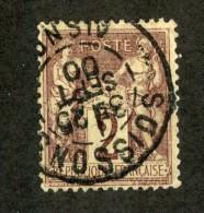 3735  France 1877  Mi.#69 (o)  Scott #88  Offers Welcome! - 1876-1898 Sage (Type II)