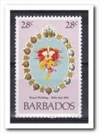 Barbados 1981, Postfris MNH, Flowers - Barbados (1966-...)