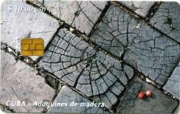 CUBA 96 Adoquines De Madera 30.000ex