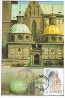 Poland 1997 Krakow, Wawel Castle - Cartes Maximum