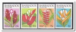 Barbados 1986, Postfris MNH, Flowers, Christmas - Barbados (1966-...)