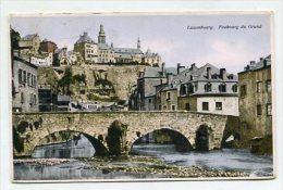 LUXEMBOURG - AK 221365 Luxembourg - Faubourg Du Grund - Luxemburgo - Ciudad