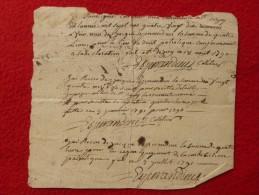 RECU DON PATRIOTIQUE ESPERANDIEU COLLECTEUR SAINT DEZERY GARD 1790 1791 1792 - Documents Historiques