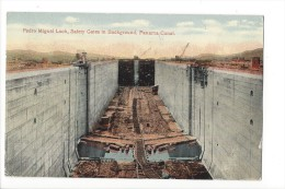 11940 - Pedro Miguel Lock Safety Gates In Background Panama Canal - Panama