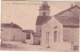 Viéville,rue De La Fontaine,magasin à Droite,voir Scan - Autres Communes