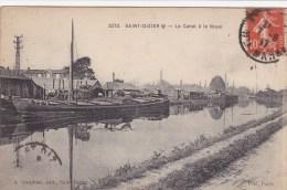 Saint Dizier,le Canal à La Noue - Saint Dizier