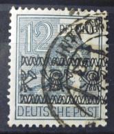 Alliierte Besetzung 1948 Briefmarke Bandaufdruck - Bizone