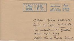 FRANCE - EMA - Lycée Auguste Et Louis Lumière, La Ciotat, 2005 (sur Grand Fragment D'enveloppe) - Cinéma