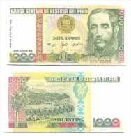 Peru 1.000 Intis 1988 Pick-136-b UNC - Perú