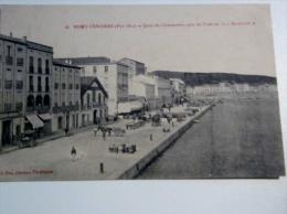 "CPA  66 Port-Vendres, Quai Du Commerce, Pris Du Pont De La ""Medjerda"" - Fm - Militaria - Torpilleur Tirailleur Naval - Port Vendres"