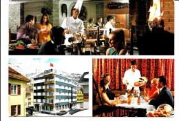 cartolina alberghi e ristoranti-hotel helvetia-andermatt