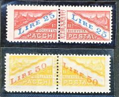 San Marino Pacchi 1946 Serie N. 31 - 32 MNH - Colis Postaux