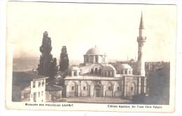 Carte Photo CONSTANTINOPLE - Mosquée Des Mosaîques KAHRIE Edts Apollon En Face Du Péra Palace - Turquie