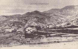 Ubaye 04 - Vue Générale Village - Correspondance Militaire 1914  III Territorial - France