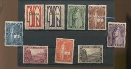 1928 Première Orval, 258 / 266*, Cote 90 €, - Belgium