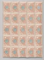 Ensemble De 243 Timbres Chemins De Fer Emission 1902 Neufs - En 10 Grands Blocs  --  WW139 - 1895-1913
