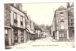 CPA COMBOURG La Rue Des Princes - Coll C.Lision 5 - Combourg