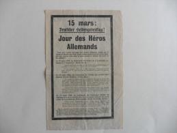 Militaria :Bulletin  D´information De Guerre  Des Etats- Unis D´Amérique 1943 - Documents