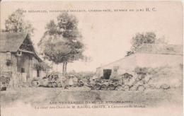 LAMONZIE ST MARTIN LES VENDANGES DANS LE BERGERACOIS LA COUR DES CHAIS DE M RAOUL CROUX - Francia