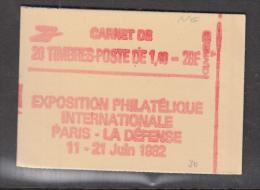 FRANCE MNH** CARNET 2154 C 1 CONFECTION 8 - Definitives