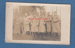 CPA Photo - Prés Du Front - Groupe De Poilu Du 204e Régiment - Voir Uniforme - WW1 - TOP - Oorlog 1914-18