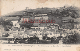 60 -  PONT SAINT MAXENCE - Vue D'ensemble - Chapelle Du Mont Calipet - Dos Vierge -  2 Scans - Pont Sainte Maxence