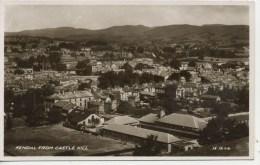 CUMBRIA - KENDAL FROM CASTLE HILL RP Cu76 - Cumberland/ Westmorland