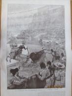 1905  La Corrida  De Toros   En L Honneur Du President à MADRID ESPAGNE - Vecchi Documenti
