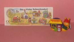 1997 Kinder Allemand Das Kleine Schneckendorf 641294 + BPZ - Cartoons