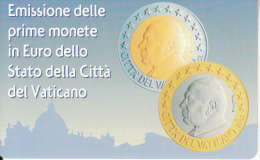 VATICAN - Primo Euro Vaticano(92), Tirage 8000, Exp.date 01/01/04, Mint - Timbres & Monnaies